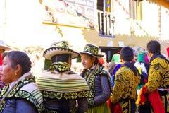 Festiwal señor De Choquekillka w Ollantaytambo fotografia stock