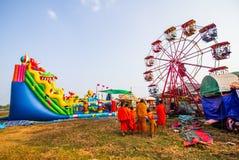 Festiwal w Laos Zdjęcie Royalty Free
