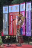 Festiwal świętuje Światową dzień turystykę w Indonezja Obrazy Royalty Free