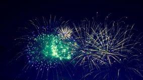 Festiwali/lów świateł wybuch w niebie zbiory wideo