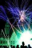 festiwali/lów fajerwerki Zdjęcia Royalty Free