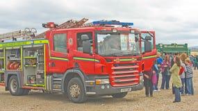 festiwalu łódkowaty parowozowy ogień Inverness Zdjęcie Stock
