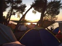 Festiwalu camping obraz stock