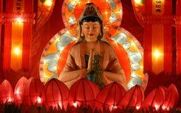 festiwalu chiński lampion Obrazy Royalty Free
