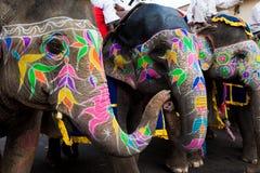 festiwalu gangaur Jaipur zdjęcia stock