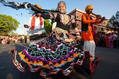 festiwalu gangaur Jaipur Zdjęcie Stock