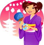 festiwalu japończyk Obrazy Royalty Free