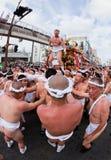 festiwalu japońscy ogion uczestnicy Obraz Royalty Free