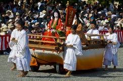 festiwalu jidai matsuri Fotografia Stock