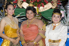 festiwalu krathong loy woda Fotografia Stock