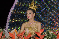 festiwalu krathong loy woda Zdjęcia Royalty Free