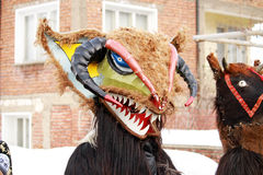 festiwalu kukeri Zdjęcie Royalty Free