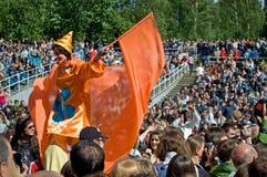 festiwalu ludu mennicy muzyka dzika Obrazy Royalty Free