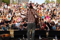 festiwalu muzyki scena Fotografia Stock