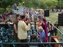 2016 festiwalu Średniowieczny Dr Ruth Westheimer 1 Fotografia Royalty Free
