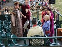 2016 festiwalu Średniowieczny Dr Ruth Westheimer 2 Zdjęcie Stock