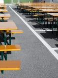 festiwalu restauraci stół Obraz Royalty Free