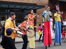 festiwalu rodzinny tribeca Obrazy Royalty Free