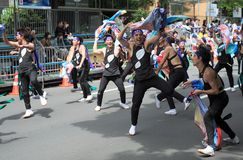 festiwalu Sapporo yosakoi Zdjęcia Royalty Free