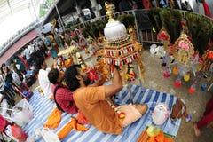 festiwalu Singapore thaipusam obrazy stock