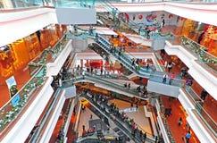 Festiwalu spaceru zakupy centrum handlowe, Hong kong zdjęcia royalty free