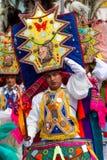 Festiwalu tancerz Obrazy Royalty Free