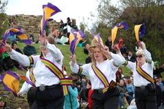 festiwalu zielona hastings dźwigarka fotografia royalty free