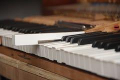 Festlegungs-Klavier Lizenzfreie Stockfotos