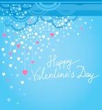 Festliche Dekorationskarten des Vektors für Valentinsgruß-Tag vektor abbildung