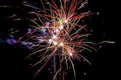 Festliche Feuerwerke Lizenzfreies Stockbild
