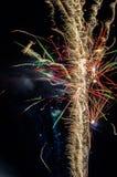 Festliche Feuerwerke Lizenzfreies Stockfoto