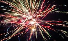 Festliche Feuerwerke Stockfoto