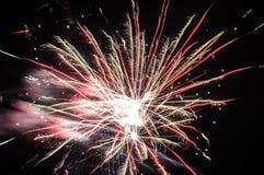 Festliche Feuerwerke Stockfotos