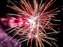 Festliche Feuerwerke Stockbilder