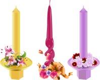 Festliche Kerzen Lizenzfreie Stockfotografie