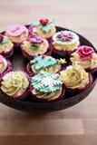 Festliche kleine Kuchen Lizenzfreies Stockbild