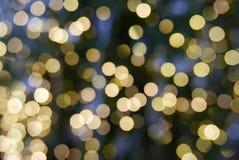 Festliche Lichter Bokeh Lizenzfreies Stockbild