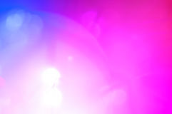 Festliche Lichter und Kreise Lizenzfreie Stockfotografie
