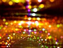 Festliche Nacht - erzeugtes Bild der Zusammenfassung digital Lizenzfreie Stockfotos