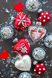 Festliche Weihnachtsdekoration Stockfotos
