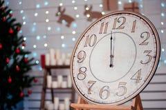 Festliche Weihnachtsweinlese watches02 Lizenzfreie Stockfotos