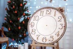 Festliche Weihnachtsweinlese watches05 Lizenzfreie Stockfotos