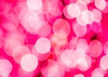 Festlicher Hintergrund mit bokeh Lichtern, für Design Stockbild