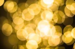 Festlicher Hintergrund mit bokeh Lichtern Weihnachten und neues Jahr Stockbild