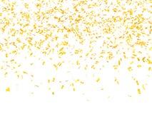 Festlicher Hintergrund von Confetti Lizenzfreie Stockbilder