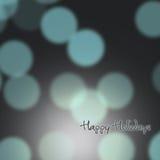 Festlicher Hintergrund von Lichtern Stockfoto