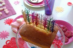 Festlicher Kuchen Lizenzfreies Stockbild
