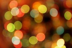 Festlicher mehrfarbiger Hintergrund mit boke Effekt Lizenzfreies Stockbild