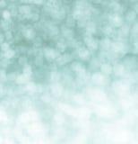 Festlicher Unschärfegrün bokeh Hintergrund Lizenzfreie Stockfotos