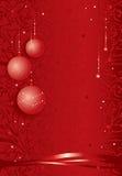 Festlicher Weihnachtshintergrund Stockbild